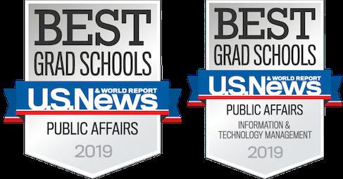 U.S. News & World Report Best Grad Schools in Public Affairs and Public Affairs Information & Technology Management